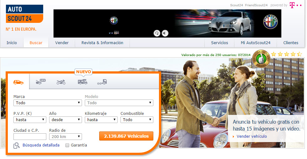 autoscout24 opiniones