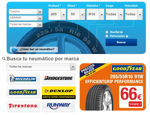 Norauto neumáticos