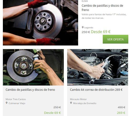 Groupon motor precios