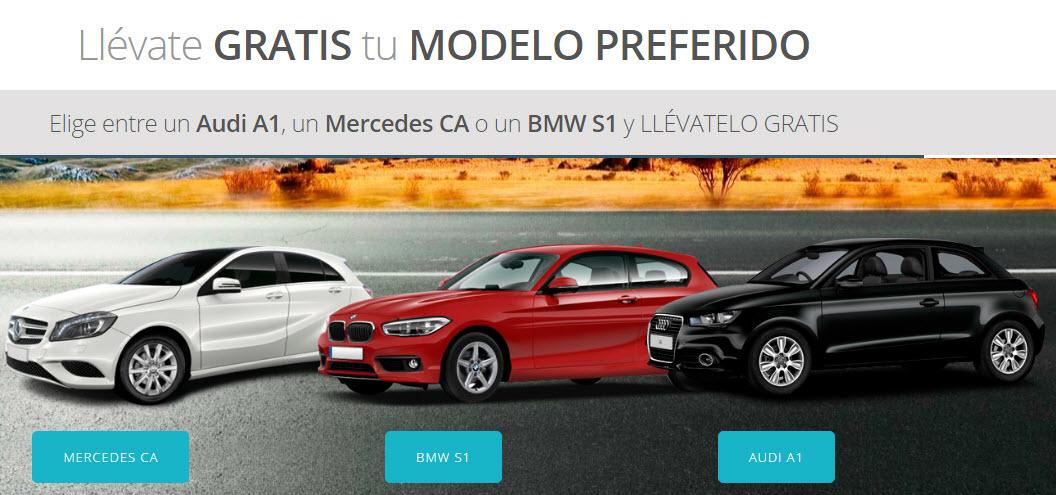 concursos de coches gratis