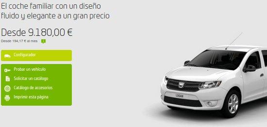 Probar Dacia Logan gratis