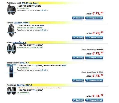 Neumáticos de moto trail