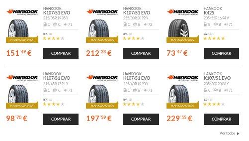 Confort Auto neumáticos de verano
