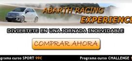 Cursos de conducción deportiva Abarth: detalles y precios