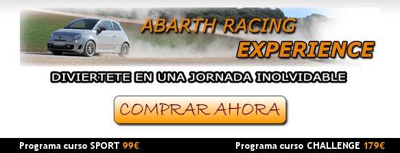 Cursos de conducción Abarth