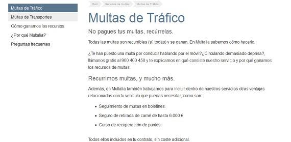 RECURSOS DE MULTAS DE TRÁFICO