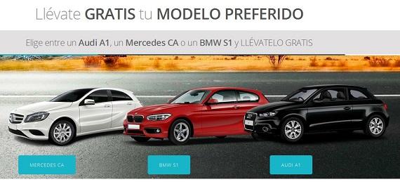 Sorteos automóviles gratis