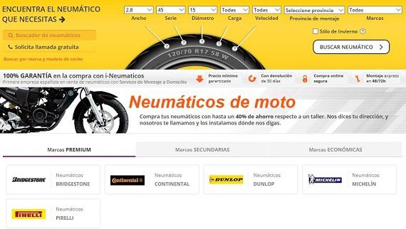 ineumaticos moto