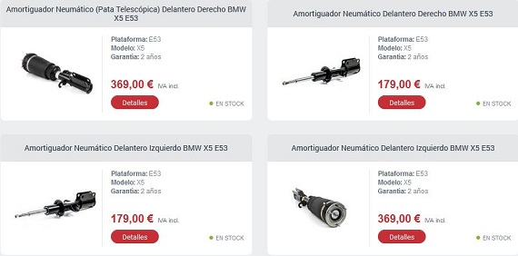 suspensiones neumaticas kits