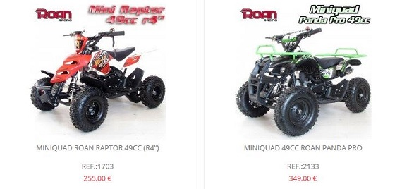 motos apollo mini quads