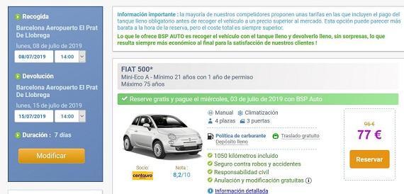 bsp auto España