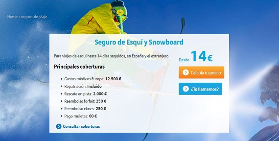allianz seguro esquí